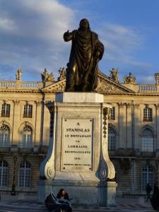 Denkmal Stanislas auf dem gleichnamigen Place Stanislas