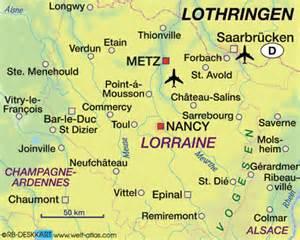 Nancy in Lothringen / Frankreich