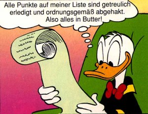 Alles in Butter?