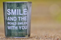 Lächeln...