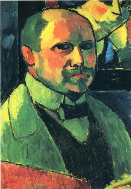 Jawlensky self-portrait