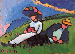 Marianne & Alexej ... von Gabriele Münter