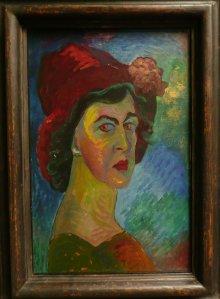 MARIANNE VON WEREFKIN autoportrait 1910