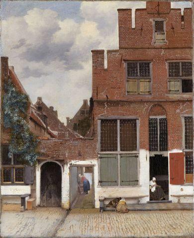 Straße von Delft