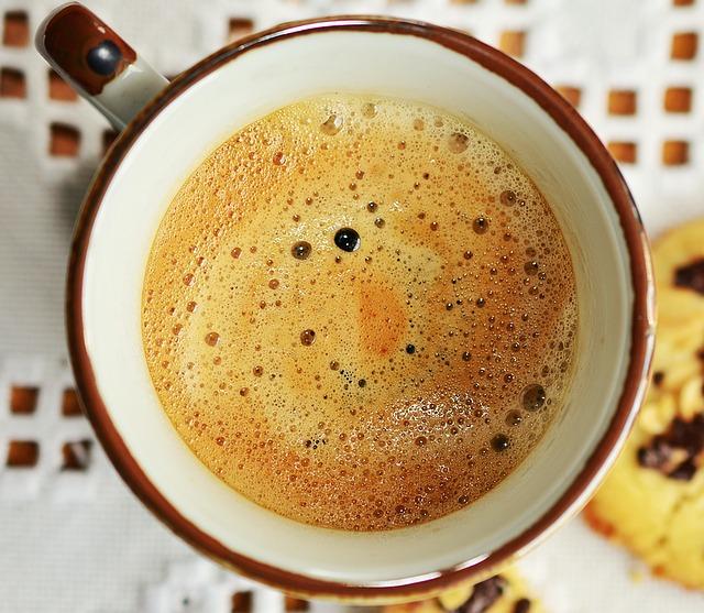 coffee-braun-schaum