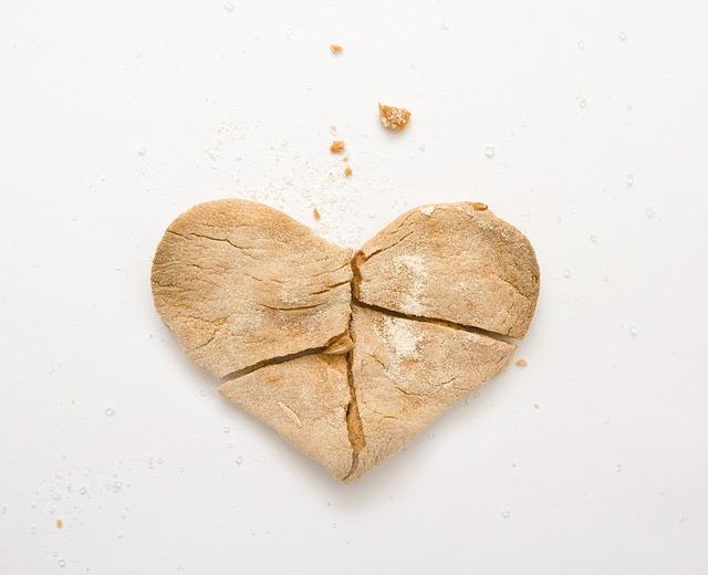 Herz-gebrochen